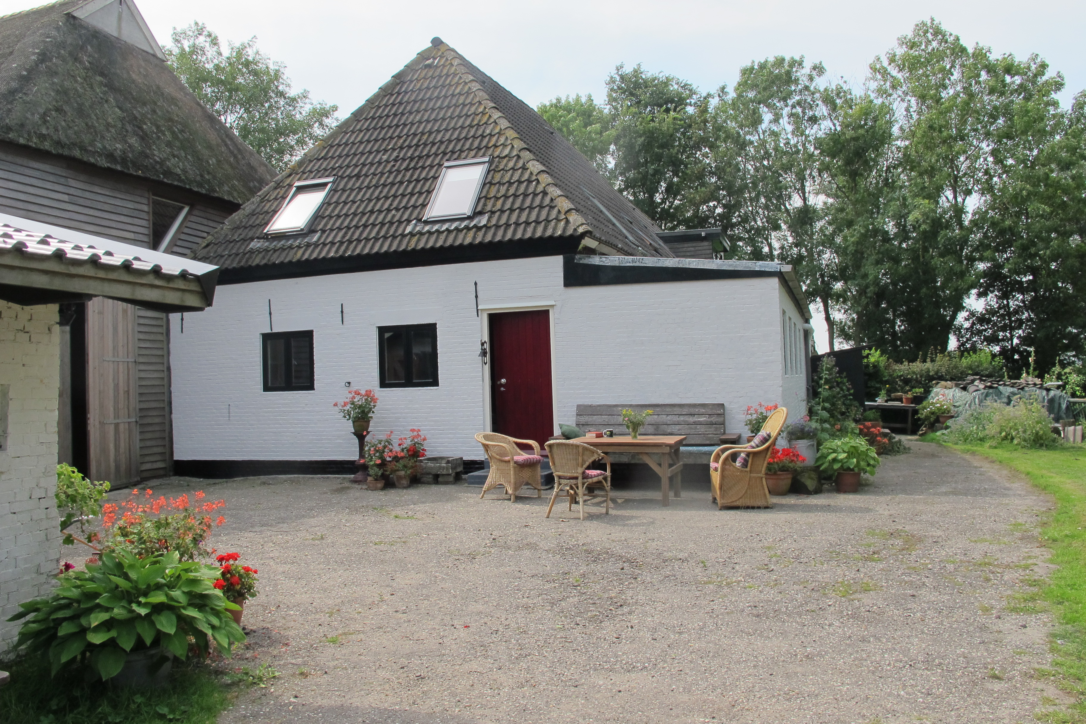 Groepsaccommodatie Boerderij Groot Baarda in Holwerd, Friesland, vlak bij de Waddenzee en Dokkum.
